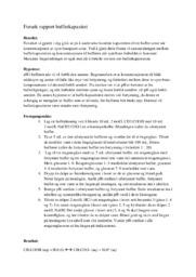 Forsøk rapport bufferkapasitet | 5 i karakter