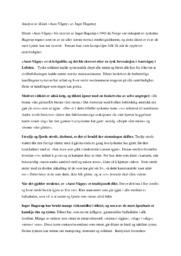 Analyse | Aust Vågøy av Inger Hagerup
