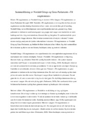 Sammenlikning | Nordahl Griegs & Gatas – Til ungdommen