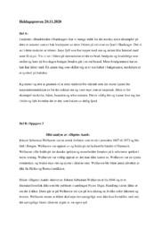 Dikt analyse av Digetes Aand | 5 i karakter