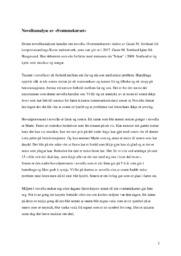 Novelleanalyse av Svømmekurset | 5 i karakter