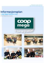 Informasjonsplan | Coop Mega Kolbotn torg