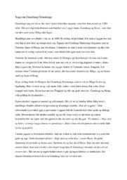 Soga om Gunnlaug Ormstunge | 5 i karakter
