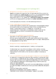 Kollokvieoppgaver om Hydrologi del 1 | 5 i karakter