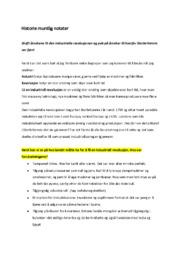 Historie muntlig notater | 5 i karakter