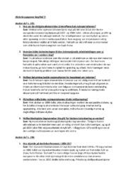Historie oppgaver kapittel 7 | 6 i karakter