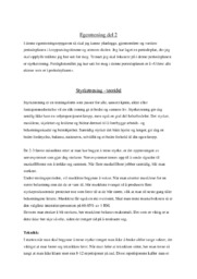 Egentrening del 2 | Kroppsøving