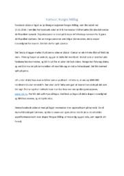 Kortsvar, Norges Mållag | 5 i karakter