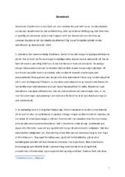 Demokrati | Samfundsfag oppgave