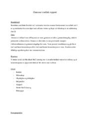 Osmose i rødløk rapport | 5 i karakter