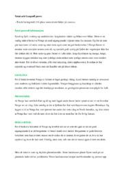 Notat ark Geografi prøve | 5 i karakter