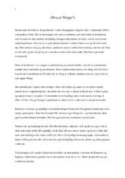 Hva er Norge | Retorisk analyse | 5 i karakter