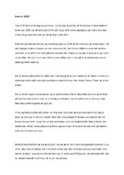 Kven er 2020 | Norsk oppgave