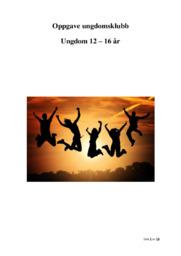 Oppgave ungdomsklubb | Ungdom 12 – 16 år