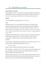 Oppvarming av hornsalt | 6 i karakter