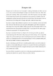 Kongens tale film | Analyse
