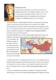 Alexander den store | Historie oppgave | 5 i karakter