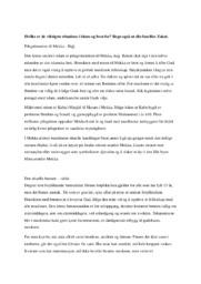 Hvilke er de viktigste ritualene i islam og hvorfor | 5 i karakter