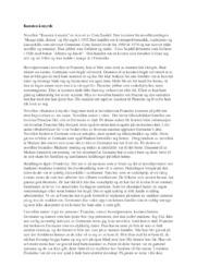 Kunsten å myrde   Novelleanalyse   5 i karakter