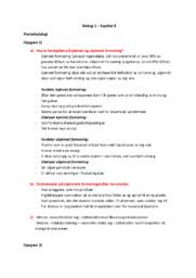 Plantefysiologi | Biologi oppgave | 5 i karakter