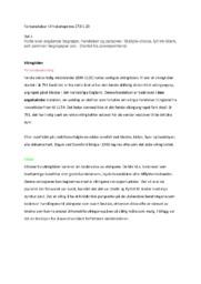 Historieprøve | Forberedelser | 5 i karakter