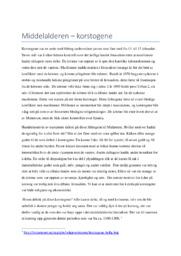 Korstogene   Middelalderen   Oppgave