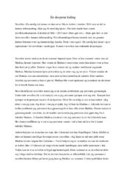En utrolig kul dame | Novelleanalyse | 6 i karakter