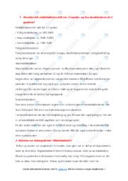 Middelalder | Notater | 5 i karakter