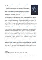 Mobile Lovers | Analyse | 6 i karakter