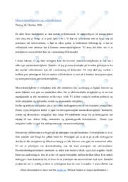 Menneskerettigheter og velferdsstaten | Oppgave | 5 i karakter
