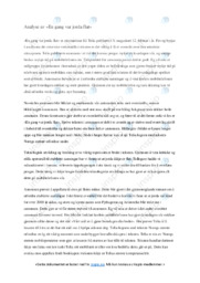 En gang var jorda flat | Analyse | 5 i karkater