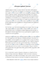 'Eksamen opphøyd i korona' | Analyse | 5 i karakter