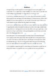 'Blodhevn' | Analyse | 5 i karakter