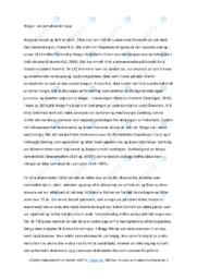 Norges demokratiske utvikling | Analyse | 6 i karakter