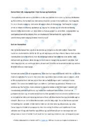 Romerrikets fall | Analyse | 6 i karakter