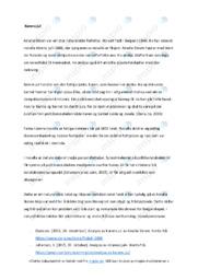 'Karens jul' | Novelleanalyse | 5 i karakter
