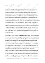 Sosialiseringens forskjeller i tid og sted | Oppgave | 6 i karakter