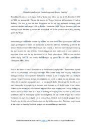 'Gratulerer med dagen, Ludvig' | Analyse | 5 i karakter