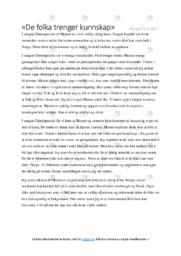 Ghettoparasitt | Analyse | 5 i karakter