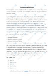Buddhismen | Oppgave | 5 i karakter