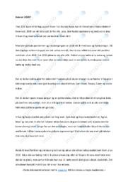 Kven er 2020 | Essay | 5 i karakter