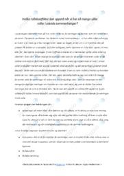 Ulike roller i sosiale sammenhenger | 5 i karakter