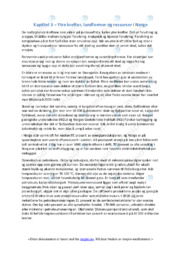 Landformer og ressurser i Norge   Oppgave   6 i karakter