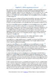 Klima og grønne ressurser | Oppgave | 6 i karakter