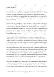 'Tora'   Analyse   5 i karakter
