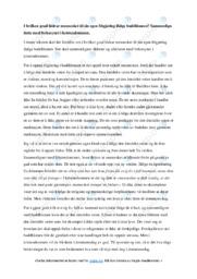 Buddhisme | Oppgave | 5 i karakter