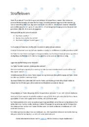 Straffeloven | Oppgave | 5 i karakter