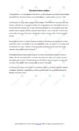 'Kremmerhuset'   Analyse   6 i karakter