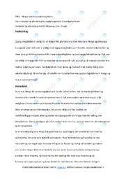 Opplysningstiden | Oppgave | 5 i karakter