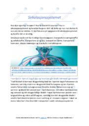 Sirkulasjonssystemet | Oppgave | 6 i karakter